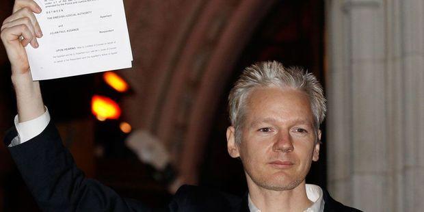 Assange libéré sous caution