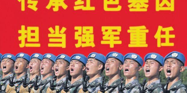 Une vague rouge balaie la Chine