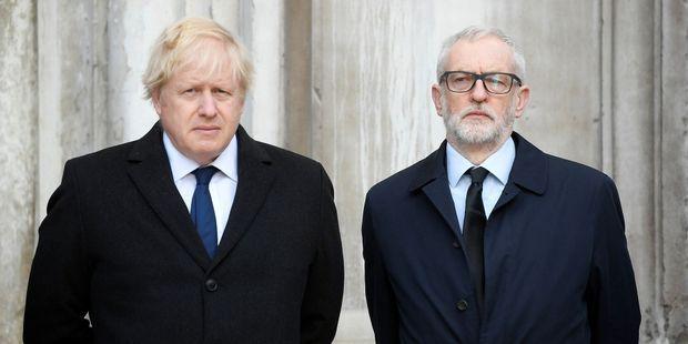 Royaume-Uni : les plans de Boris Johnson et de Jeremy Corbyn en cas de victoire aux législatives
