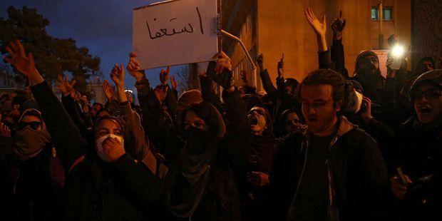 Iran : la colère des jeunes après l'aveu des Gardiens sur le tir par erreur contre l'avion ukrainien