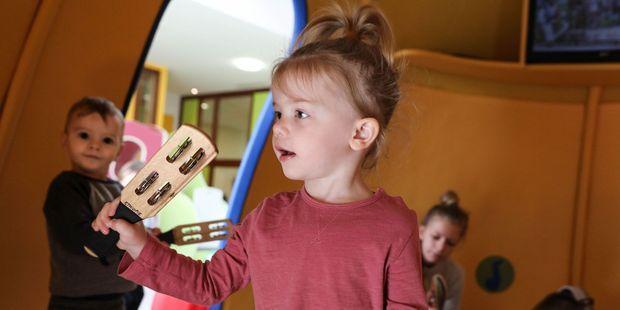 Grand Paris : ces crèches innovantes où les enfants grandissent en musique