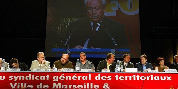 A Marseille, l'alliance Gaudin-Force ouvrière vit sa fin de règne