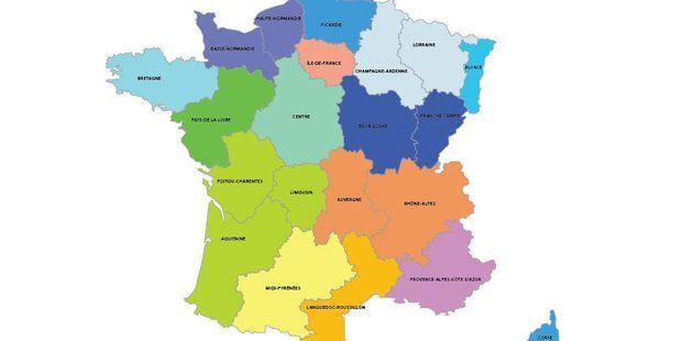 Ce Qui Change Avec La Nouvelle Carte Des Regions
