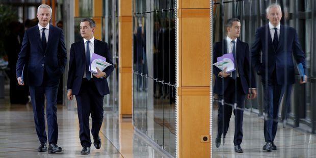 Gérald Darmanin, Bruno Le Maire : l'impôt qui les divise