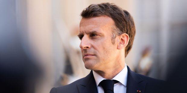 Le président Emmanuel Macron, le 27 avril 2021, à l'Elysée.