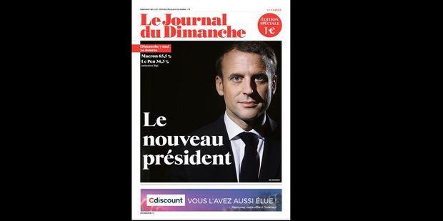 """""""Macron, le nouveau président"""" : numéro spécial du JDD ce soir"""