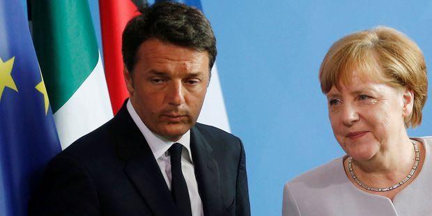 Macron : les dirigeants européens célèbrent une victoire de l'UE