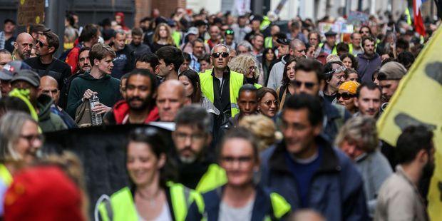 Des milliers de Gilets jaunes ont de nouveau manifesté la semaine dernière en France.
