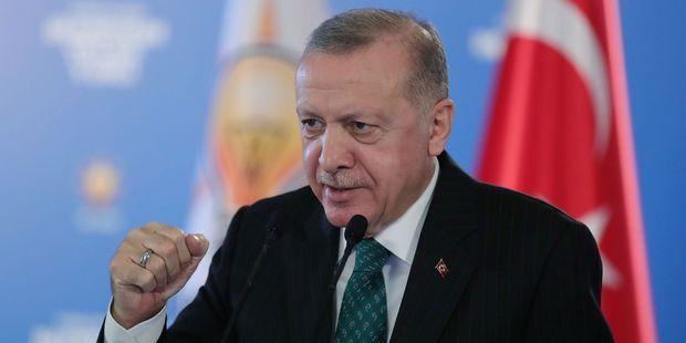 Le président turc Recep Tayyip Erdogan mercredi à Ankara, la capitale turque.