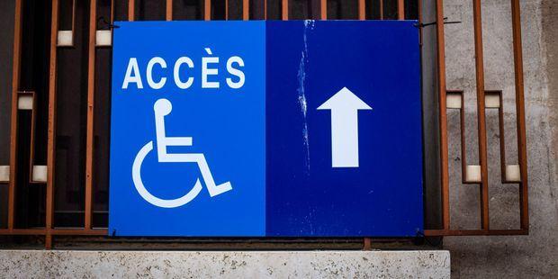 """Handicap : l'appel de 250 élus et proches de la majorité présidentielle pour """"une accessibilité universelle"""". Photo d'illustration."""