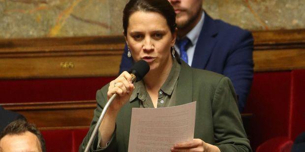 Célia de Lavergne, députée LREM de la Drôme, en 2017 à l'Assemblée nationale.