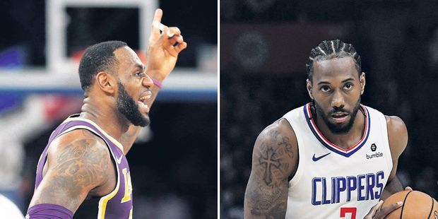 NBA : guerre des étoiles à Los Angeles