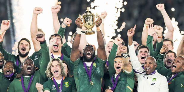 Coupe du monde de rugby : les Springboks sud-africains, tout-puissants, écrasent les Anglais