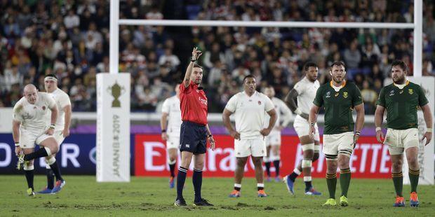 Macron a téléphoné à l'arbitre de la finale de la coupe du monde de rugby