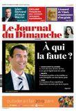 La une du journal du dimanche