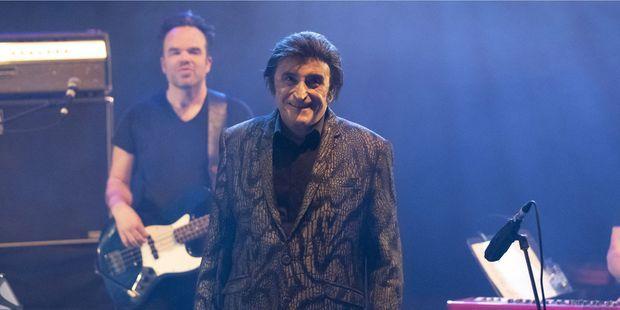 Dick Rivers, sur scène à Nice, en décembre 2018.