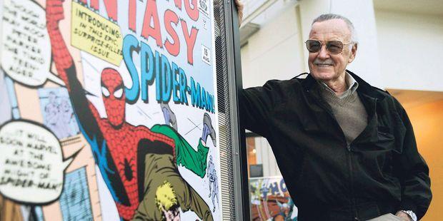 """""""Lucky Man"""" : Stan Lee, créateur des super-héros Marvel, a été associé à la conception de la série"""