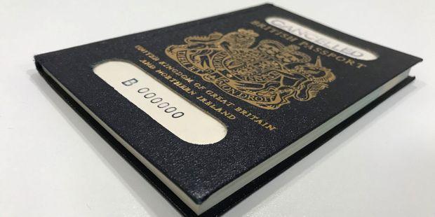 passeport pour aller en angleterre