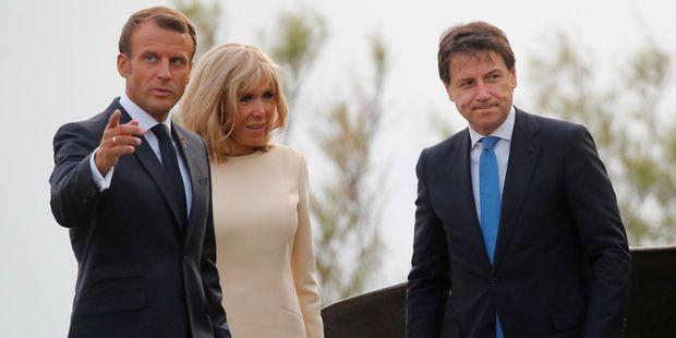Ce que Macron veut obtenir de sa visite en Italie
