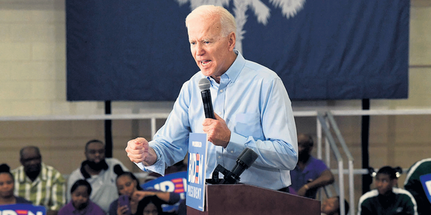 Présidentielle américaine de 2020 : le pari de Joe Biden