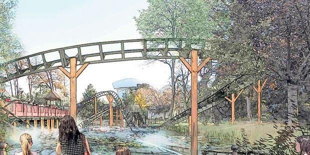 Le Jardin D Acclimatation Devient Retro Futuriste