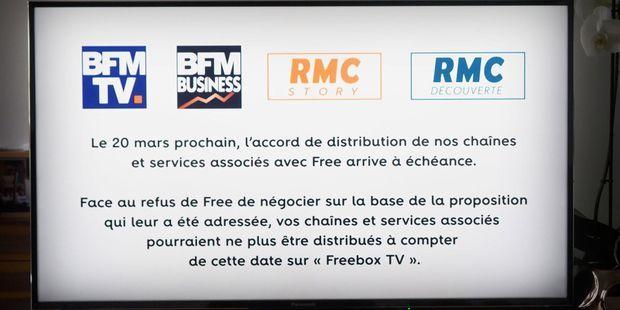 BFMTV et Free sont en guerre