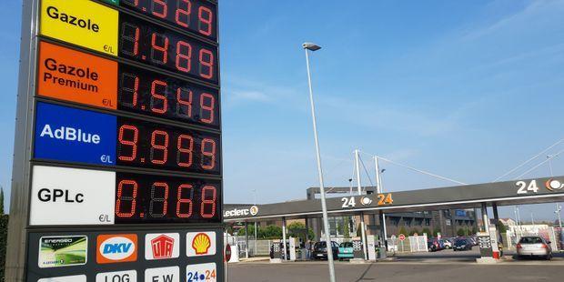 Le prix d'un litre de diesel a augmenté de plus de 20% en un an.