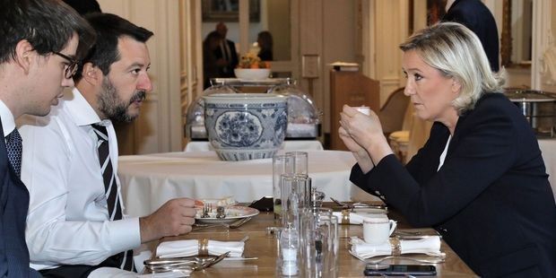 CARTE. Européennes : l'alliance de Salvini et Le Pen peut devenir la 3e force à Strasbourg