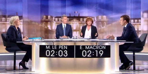 4c1d391db4c Débat télévisé entre Macron et Le Pen   ce qu il faut retenir