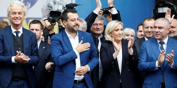 EDITO. Européennes : les encombrants alliés de Marine Le Pen