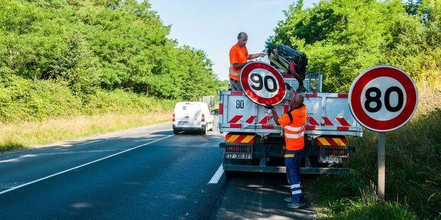 """En Dordogne, """"un peu plus de 20% du réseau routier départemental repassera aux 90km/h"""""""
