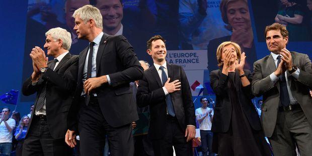 Européennes : la droite unie le temps d'un meeting de François-Xavier Bellamy