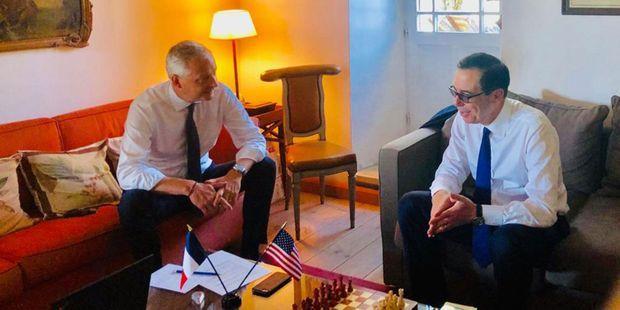 EXCLUSIF. Taxe Gafa : tractations secrètes entre Bruno Le Maire et les émissaires de Trump