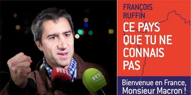 """Le député François Ruffin sort un livre adressé au président Macron, """"Ce pays que tu ne connais pas""""."""