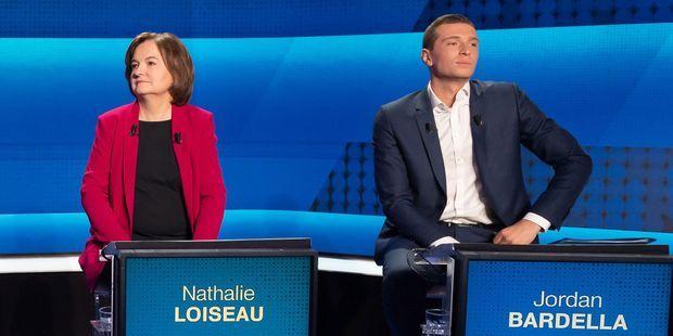 INFOGRAPHIE. Européennes : dans les sondages, le RN est passé devant LREM