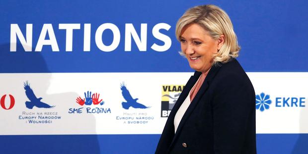 """Marine Le Pen confie ne pas avoir """"vocation à être candidate à la présidentielle à vie"""""""