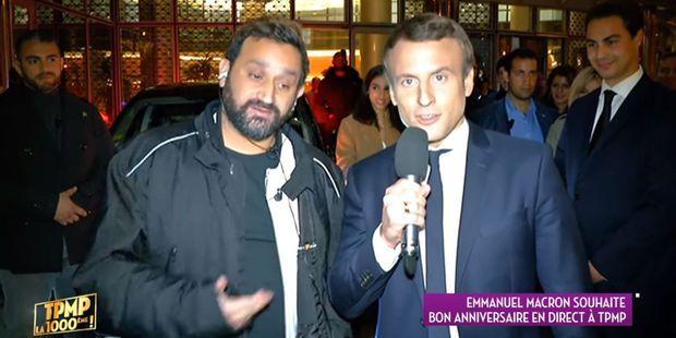 Pourquoi Emmanuel Macron A Repondu A Cyril Hanouna