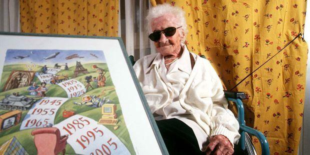 Jeanne Calment est bien morte à 122 ans, estime une étude franco-suisse