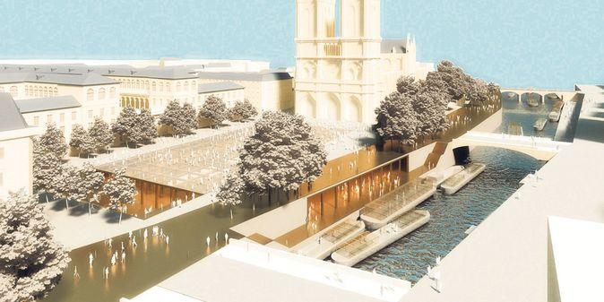 A Paris, un projet spectaculaire pour l'île de la Cité