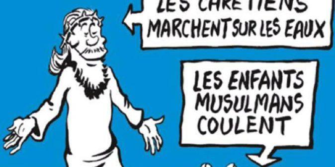 Les Dessins De Charlie Hebdo Sur La Mort Du Petit Aylan Choquent A L Etranger