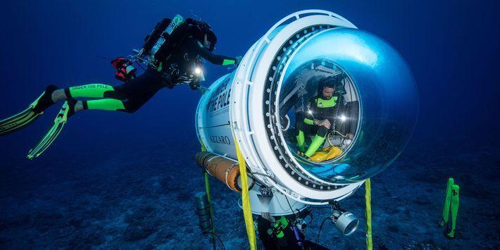 Jackson sous-marin avec des rencontres seul eng sub